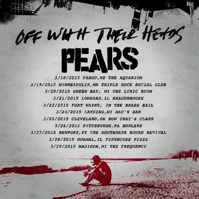 Off With Their Heads PEARS Tour 2015