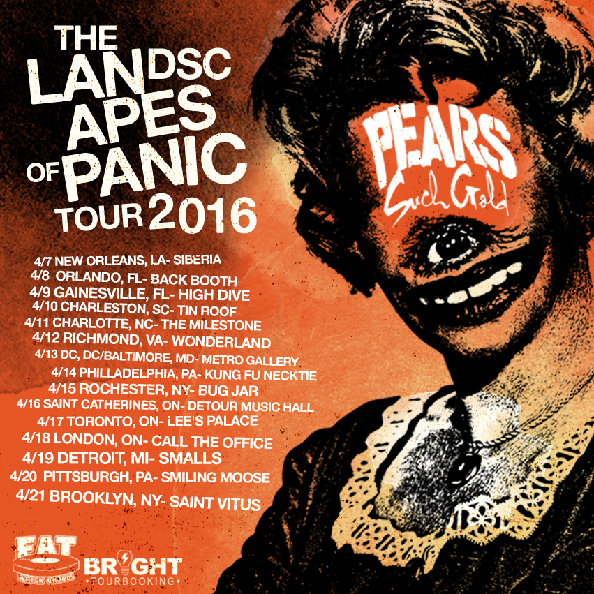 Such Gold x PEARS Landscapes of Panic Tour 2016