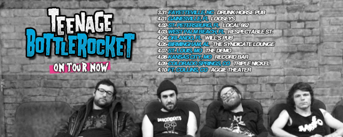 Teenage Bottlerocket PEARS Tour 2015