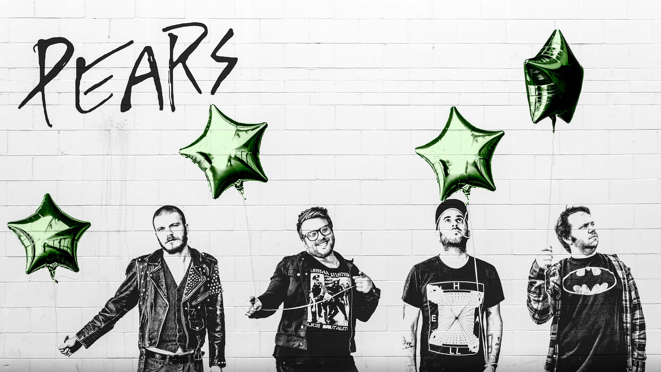 PEARS THE BAND - Green Star Wall - Photo by John Paul Allen