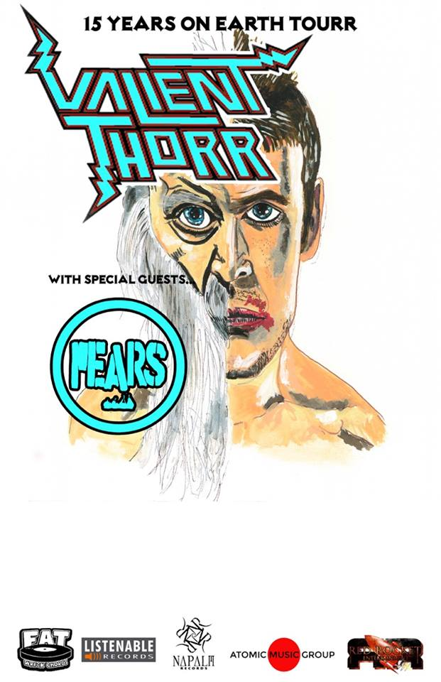 Valient Thorr w/ PEARS | 15 Years on Earth Tour | USA 2016