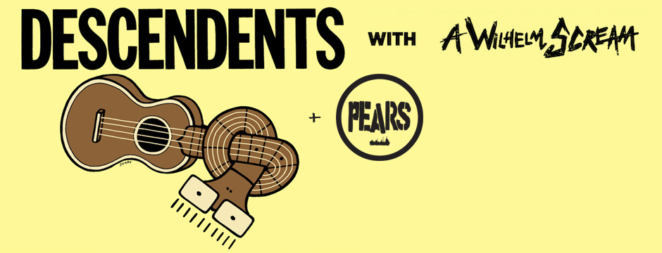 Descendents A Wilhelm Scream PEARS New Orleans Athens Columbia Tourage
