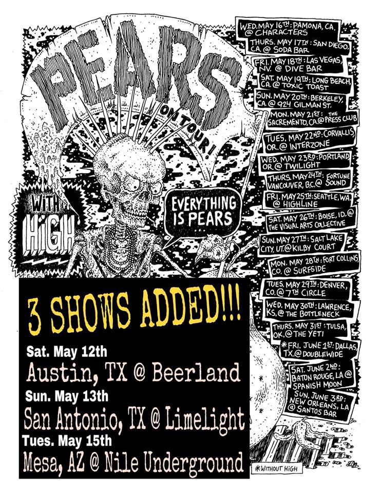 PEARS US Tour 2018 with HIGH