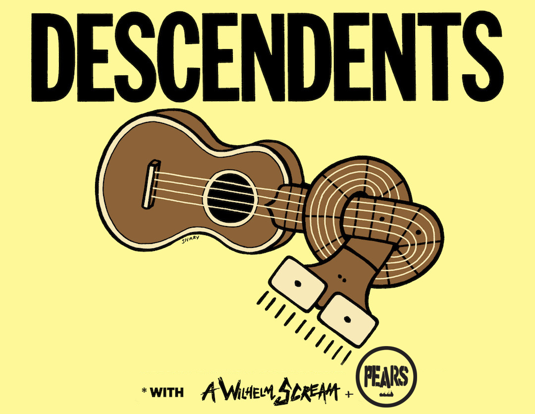 Descendents with A Wilhelm Scream and Pears 2018