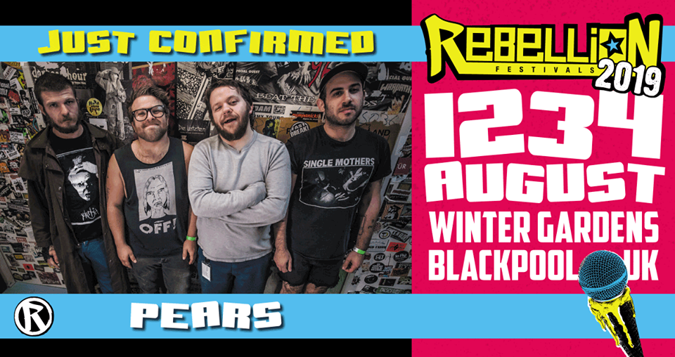 PEARS Rebellion Fest 2019 Blackpool, UK